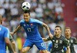 EURO 2016: ar vokiečiai pasimokys iš klaidų ir atkeršys slovakams?