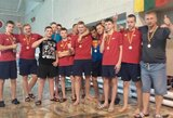 Lietuvos sporto vilčių vandensvydžio žaidynių nugalėtojais tapo kauniečiai
