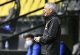 """""""Borussia"""" strategas L.Favre: """"Labai keista, kai pelnai įvartį, tačiau stadione nieko nevyksta"""""""