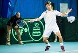 Geriausi Lietuvos tenisininkai išsaugojo turėtas pozicijas ATP vienetų reitinge