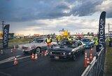 Traukos lenktynininkų ambicijas koregavo prapliupęs lietus