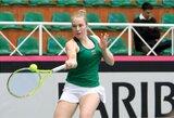 """FedCup"": Lietuvos tenisininkės pralaimėjo Liuksemburgui"