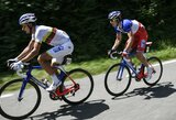 "I.Konovalovas neatlaikė dar vieno alinančio ""Giro d'Italia"" etapo"
