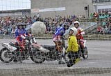 """""""Milda"""" Centrinės Europos motobolo lygos rungtynėse nepaliko vilčių svečiams iš Rygos"""