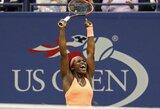 """""""US Open"""" finale - jame dar niekada nebuvusios M.Keys ir S.Stephens"""