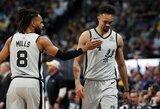 """""""Spurs"""" su D.Motiejūnu – ties iškritimo riba"""
