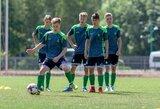 Lietuvos futbolo U-17 rinktinė pradėjo darbą su nauju treneriu