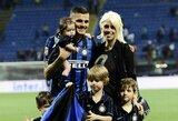 """M.Icardi žmona ir agentė: """"Futbolo pasaulyje į moteris žiūrima kaip į indaploves"""""""