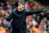 """Į žemesnę lygą iškritę """"Swansea City"""" atleido trenerį"""