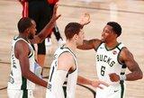 """""""Bucks"""" be G.Antetokounmpo pagalbos pratęsė sezoną"""