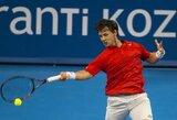 Per dvi savaites R.Berankis geriausių pasaulio tenisininkų reitinge prarado vieną poziciją