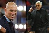 """J.Mourinho neliūdi dėl negauto darbo Madride: """"Z.Zidanas – puikus pasirinkimas"""""""