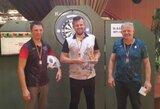 Lietuvos smiginio federacijos taurę laimėjo E.Grikšas ir M.Zdanauskaitė