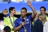 """Pamatykite: emocingas J.Terry atsisveikinimas su """"Chelsea"""" klubu"""