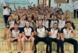 Nuostabi diena Lietuvos vandensvydžiui: šalies jaunučiai ir jauniai laimėjo Šiaurės Europos šalių čempionatą