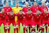Baltarusijos rinktinėje futbolininkai iš Rusijos, Kazachstano ir Baltarusijos lygų