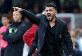 """G.Gattuso: """"Mane """"sprogdina"""", visus Milane turi """"sprogdinti"""" po tokių rungtynių"""""""