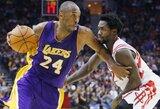 """""""Lakers"""" naujokas R.Hibbertas: žaisti su Kobe – iššūkis, bet aš pasiruošęs"""