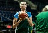 J.Jocytė buvo neregistruota, o Lietuvos moterų rinktinė pralaimėjo prieš Rygos TTT