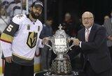 """Pasakiškas """"Golden Knights"""" debiutas tęsiasi: Las Vegaso ekipa jau pirmą sezoną pateko į Stenlio taurės finalą"""