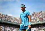 """Vienuolikto """"Roland Garros"""" titulo siekiantis R.Nadalis žengė į ketvirtfinalį"""