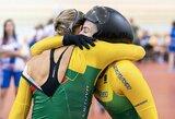 S.Krupeckaitei ir M.Marozaitei kelią link bronzos užtvėrė pasaulio vicečempionės