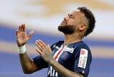 """PSG žvaigždės bus diskvalifikuotos dėl elgesio rungtynėse su """"Marseille"""""""