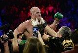 """Daugiausiai uždirbančiu pasaulio kovotoju tapęs T.Fury: """"Neblogi metai"""""""
