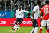 FIFA nubaudė Rusijos futbolo federaciją dėl rasistinių šūkių draugiškose rungtynėse su Prancūzija
