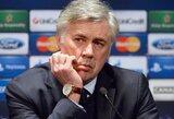 """C.Ancelotti: """"Paprašiau, kad man būtų leista išvykti į """"Real"""""""