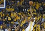 """""""Warriors"""" treneris K.Durantą palygino su M.Jordanu"""