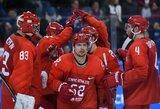 Olimpiniame vyrų ledo ritulio turnyre paaiškėjo visos ketvirtfinalio poros