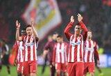 """Įvarčių lietus Vokietijoje laimę atnešė """"Atletico"""" ekipai"""