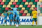 Pergalių badas tęsiasi: UEFA Tautų lygos starte lietuviai neatsilaikė prieš Kazachstaną
