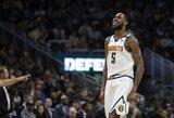 """""""Nuggets"""" laimėjo NBA lyderių tvirtovėje"""