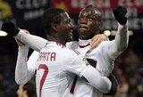 """Dešimtyje rungtynes baigęs """"Milan"""" šventė pergalę"""