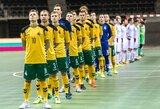 Lietuvos salės futbolo rinktinė susitiks su Slovakija