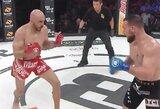 """""""Bellator 219"""": amerikietis MMA debiutavo pergale per 44 sekundes, pagrindinėje kovoje B.Girtzas laimėjo trijų raundų karą"""