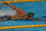 Visi trys Lietuvos plaukikai Prancūzijoje pateko į pirmuosius dešimtukus