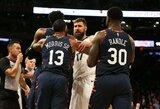 """NBA nubaudė """"Knicks"""" ir """"Grizzlies"""" konflikto dalyvius"""