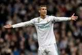 S.Ramosas nėra tikras dėl C.Ronaldo ateities Madride