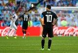 L.Messi nerealizavo 11 metrų baudinio, o Argentina sužaidė lygiosiomis su Islandija