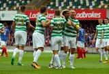 """Penktadienį vykusias Čempionų lygos rungtynes laimėjo """"Celtic"""""""