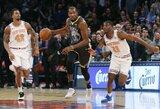 """Lažybininkai prognozuoja """"Knicks"""" komandos iškilimą"""