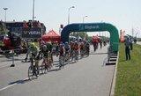 Savaitgalį uostamiestyje dviratininkams netrūko iššūkių