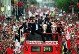 """Buvęs Anglijos rinktinės treneris: į 1999 metų """"Manchester United"""" komandą iš dabartinio """"Liverpool"""" patektų tik vienas žaidėjas"""