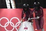 Dar vienas smūgis Rusijai: pričiupta dopingą vartojusi bobslėjaus atstovė