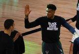 """Buvęs NBA krepšininkas: """"Antetokounmpo gali persikelti į Dalasą"""""""
