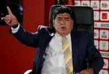 D.Maradona kritikavo Argentiną, treneris gynė savo auklėtinius
