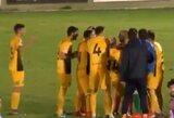 Skandalas Ispanijoje: teisėjas nutraukė rungtynes vos vieną sekundę prieš komandai pelnant pergalingą įvartį